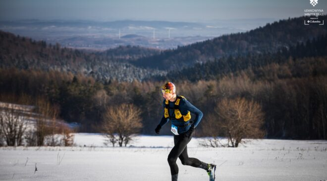 """Maurycy """"góral"""" z Łodzi wygrywa Łemkowyna Winter Trail"""