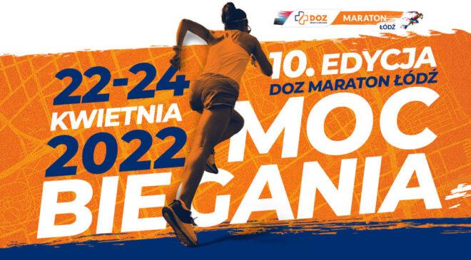 10. DOZ Maraton Łódź dopiero w 2022 roku!